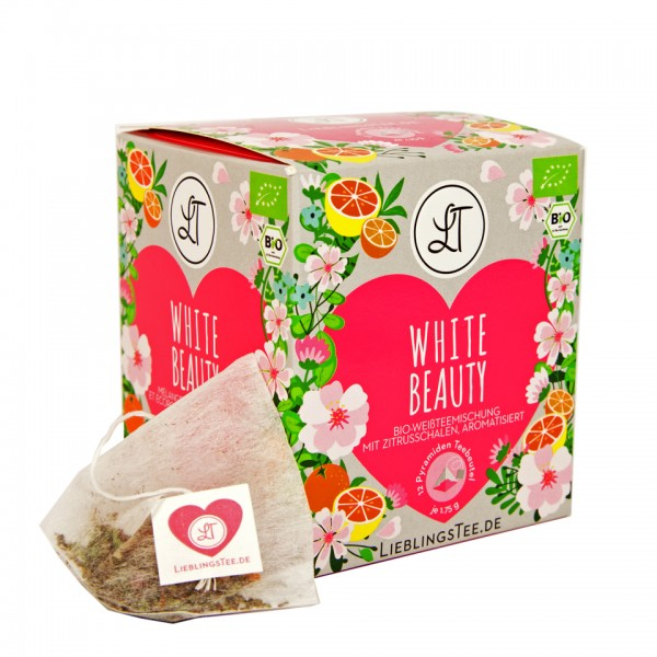 White Beauty by LieblingsTee - Bio Weißer Tee Well-Being