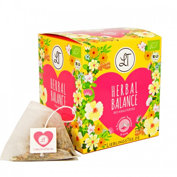 Herbal Balance by LieblingsTee - Bio Kräutertee Well-Being