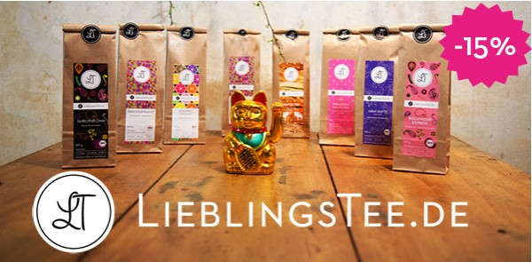 Lieblingstee-Neujahrs-Sale