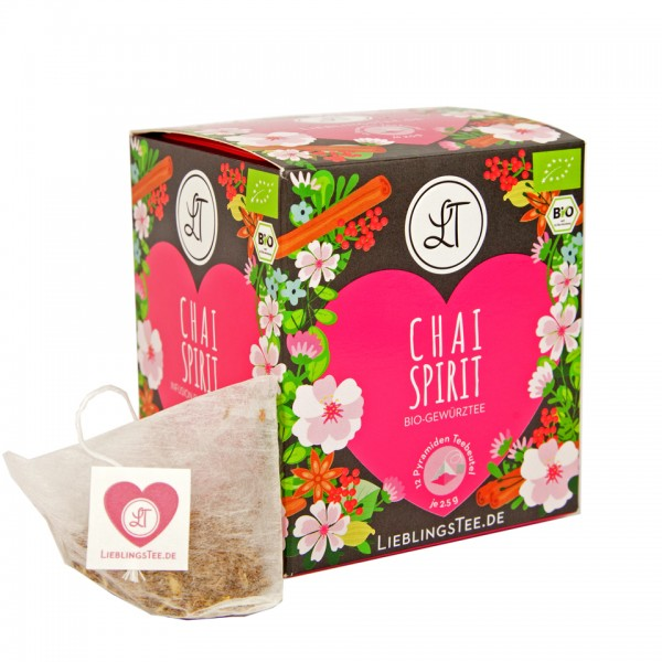 Chai Spirit by LieblingsTee - Bio Gewürztee Well-Being