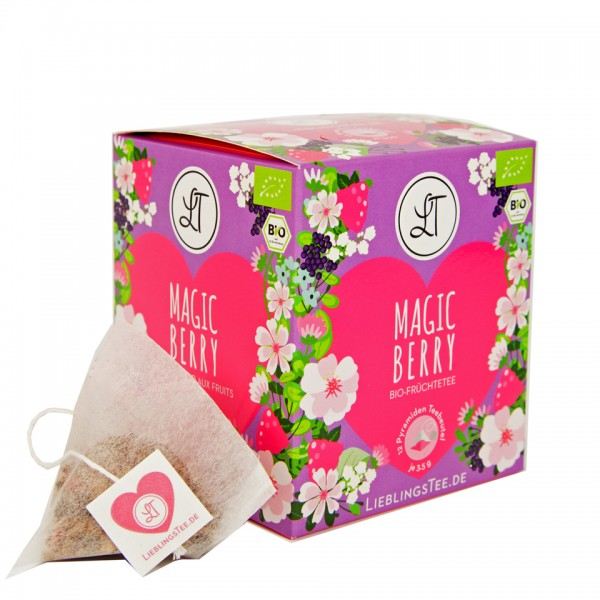 Magic Berry by LieblingsTee - Bio Früchtetee Well-Being