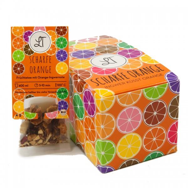 Scharfe Orange Wunderbox