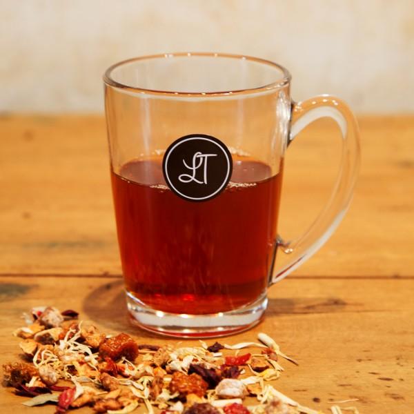 Lieblingstee-Teeglas-Tee-Gastronomie